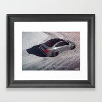 Liberty Walk BMW M3 Framed Art Print