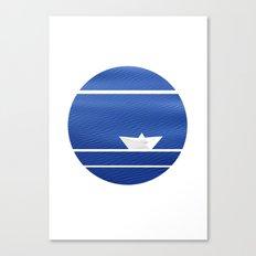 Origami-nimal Canvas Print