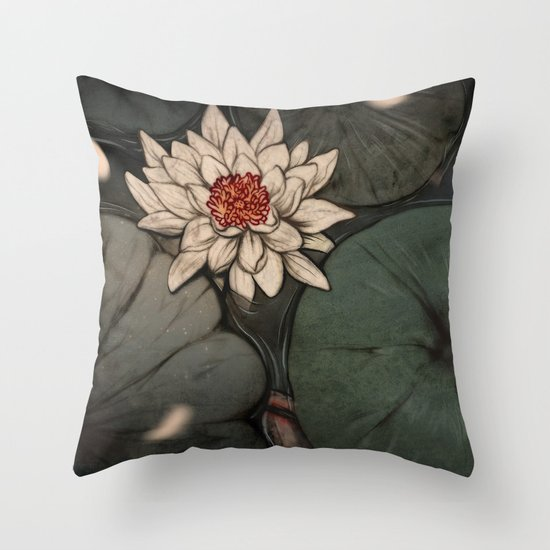 Lotus 2.0 Throw Pillow