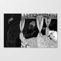 Death and the Emperor Canvas Print