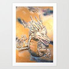 Sky Dragon Art Print