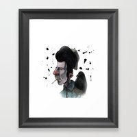 Mr. Tom Framed Art Print