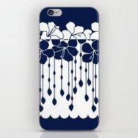 Hibiscus Neg Positive: N… iPhone & iPod Skin