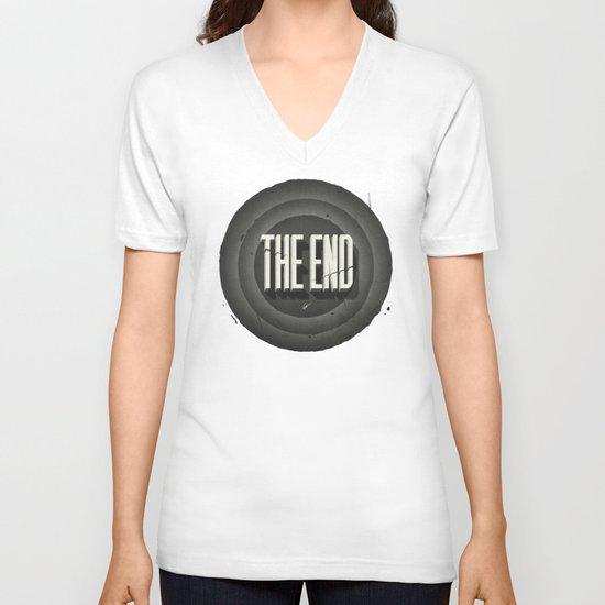 The End V-neck T-shirt