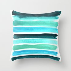 Beach colors Throw Pillow