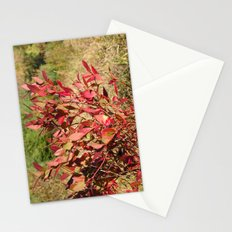 Plants on the powerlines Stationery Cards