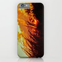 iPhone & iPod Case featuring Sunset Brings the Wind by Biff Rendar