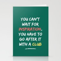 Go After Inspiration With A Club Stationery Cards