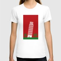 italy T-shirts featuring ITALY by Marcus Wild