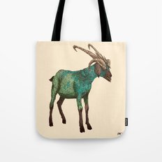 Babes in Woodland (Goat) Tote Bag