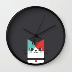 A Cat! Wall Clock
