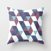 Trangled Throw Pillow