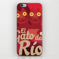 Gato caleño iPhone & iPod Skin
