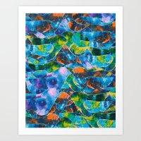 CRAYON LOVE : Freebird Art Print