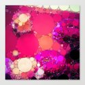 Colorful Imagination - Pink Canvas Print