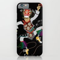 iPhone & iPod Case featuring Peruvian Scissors Dancer by AnaMF