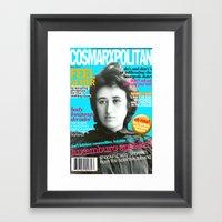 COSMARXPOLITAN, Issue 13 Framed Art Print