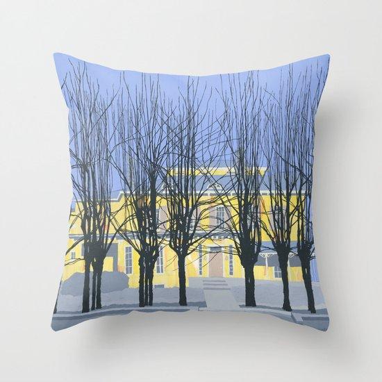 The Cumberland House Throw Pillow