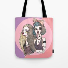Two-Toned Tote Bag
