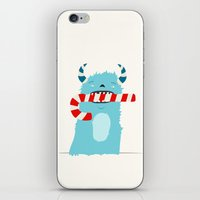December Monsters: Candy Cane iPhone & iPod Skin