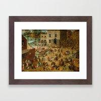 Pieter Bruegel The Elder… Framed Art Print
