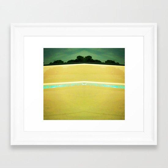 Beach to Paradise Framed Art Print