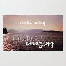 Make today ridiculously amazing Rug