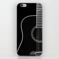 Guitar BW iPhone & iPod Skin