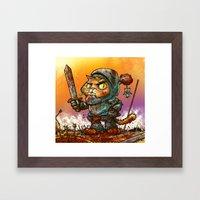 Gaticcus Framed Art Print