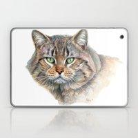 Street Cat portrait CC1402 Laptop & iPad Skin