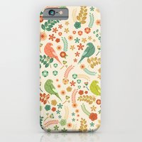 Vector Floral Pattern iPhone 6 Slim Case