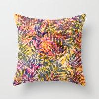 Plants Everywhere Throw Pillow