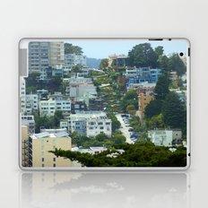 Lombard Street, San Francisco Laptop & iPad Skin