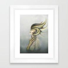 The Mandarin Ducks: Silence Framed Art Print