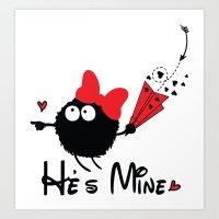 He's Mine Art Print