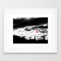 Gotham City Framed Art Print