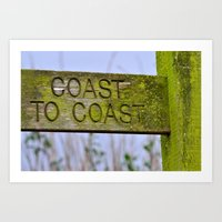 The Coast to Coast Art Print