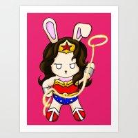 WonderBun Art Print