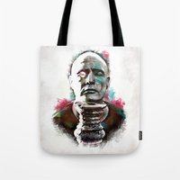 Marlon Brando under brushes effects Tote Bag