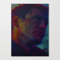 Deckard: Blade Runner Screenplay Print Canvas Print