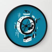 The Suburbs Wall Clock