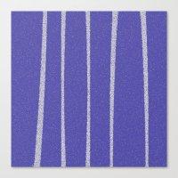 Blue Surface Canvas Print