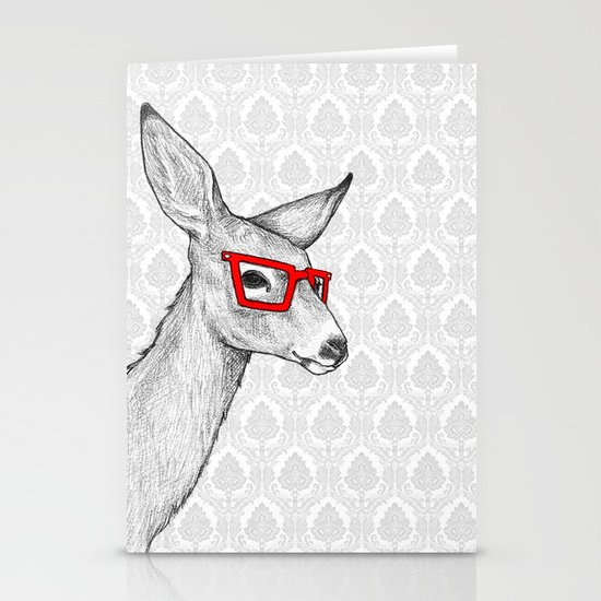 Oh Deer Stationery Card