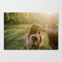 love me tender II Canvas Print