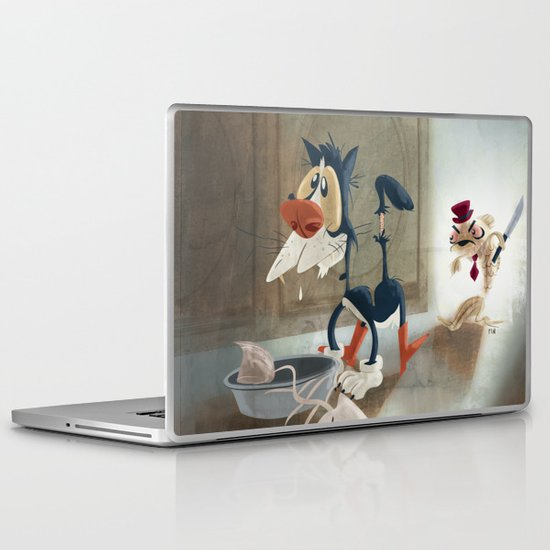 You Moidered my Wife! Laptop & iPad Skin