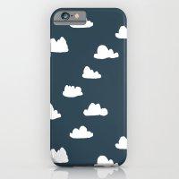 Clouds - Parisian Blue by Andrea Lauren iPhone 6 Slim Case