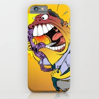 iPhone & iPod Case featuring Jerky Moe by BinaryGod.com