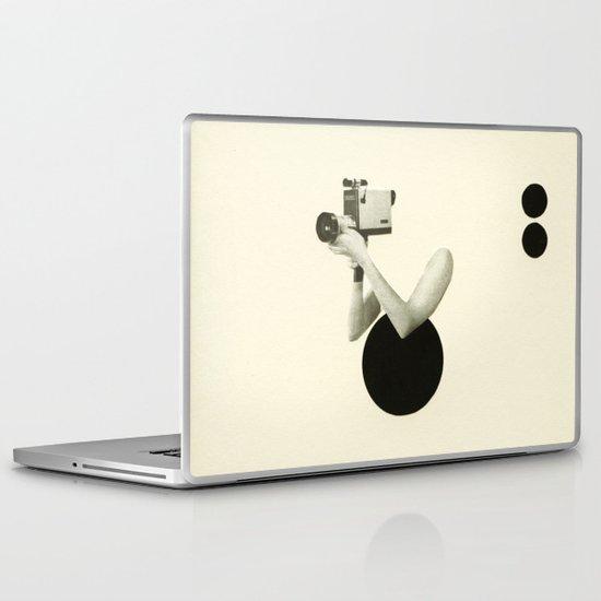 Film Noir Laptop & iPad Skin