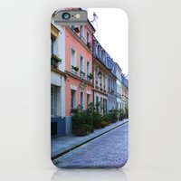 iPhone & iPod Case featuring Paris Side Street by Christine Haynes