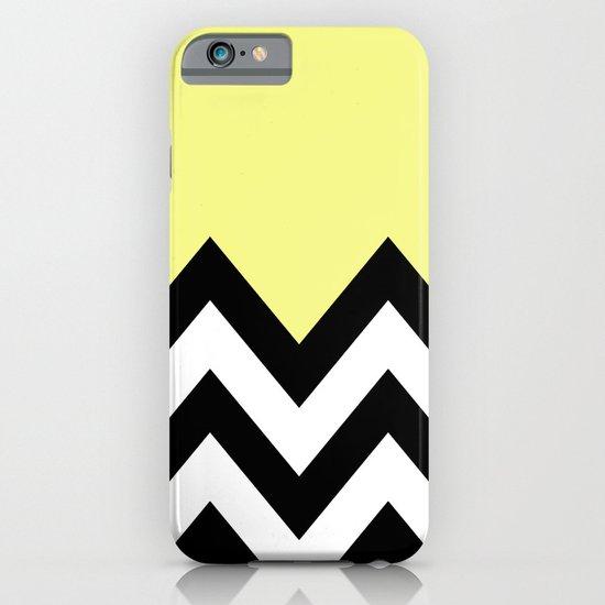 YELLOW COLORBLOCK CHEVRON iPhone & iPod Case